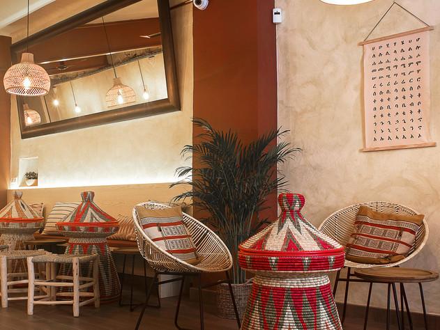 Restaurante Taitu, reforma interior.