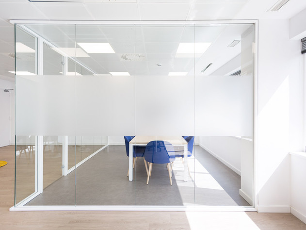 Oficina logitravel, reforma interior.
