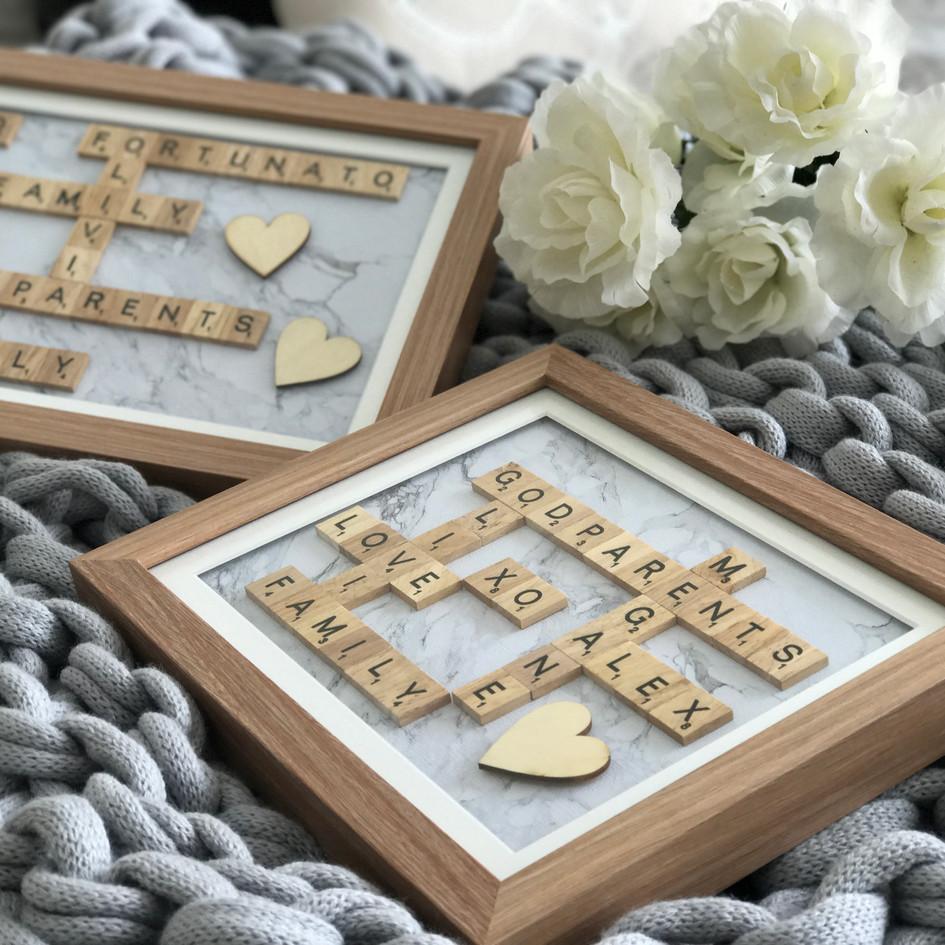 Scrabble Frames