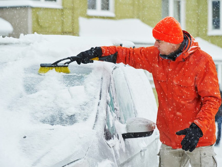Remove Ice & Snow Before You Go