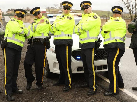 """RCMP create You Tube Video """"Cop Light Bling"""""""