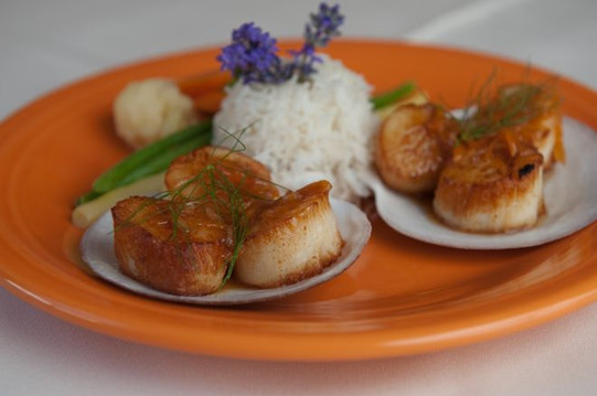 Charlotte Lane-Scallops in Asian Sauce20