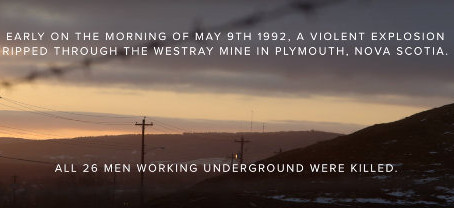 Westray Mines 25 Years Ago Today