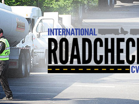 International Road Check Day 2017-Cargo Securement