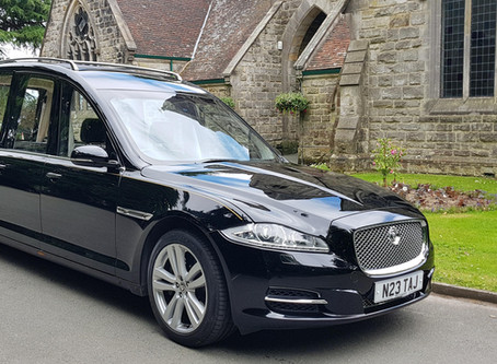 Introducing our new hearse