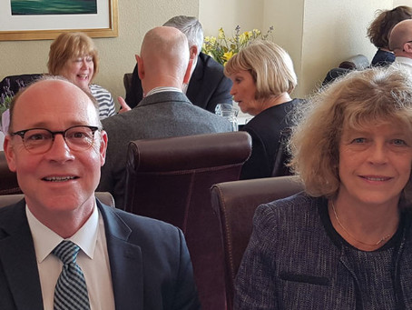 Mayor's lunch - 10th of April 2019