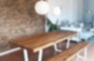 Design Holztisch