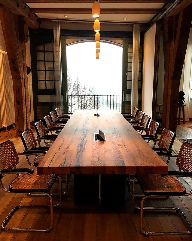 Konferenztisch Office table Besprechungstisch Schreibtisch großer Tisch | Holzwerk-Hamburg