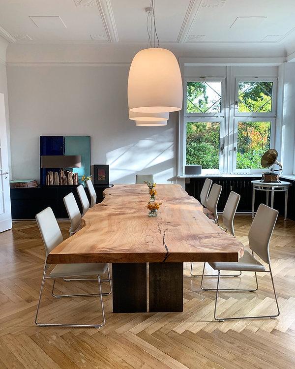 Massivholztisch Baumtisch Esstisch aus Zedernholz