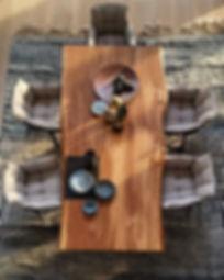 Baumtisch Unikat aus Eichenholz | Holzwerk-Hamburg