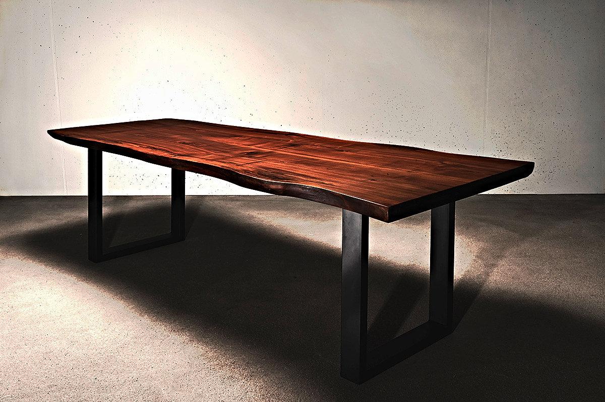 holzwerk hamburg designertische aus massivholz esstisch massivholztisch nussbaum auf ma. Black Bedroom Furniture Sets. Home Design Ideas