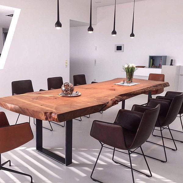 baumtisch esstisch aus zedernholz massiver holztisch aus zedernholz. Black Bedroom Furniture Sets. Home Design Ideas