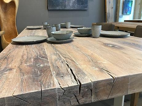 NEUHEITEN Esstische Aus Rustikalem Massivholz Holzwerk