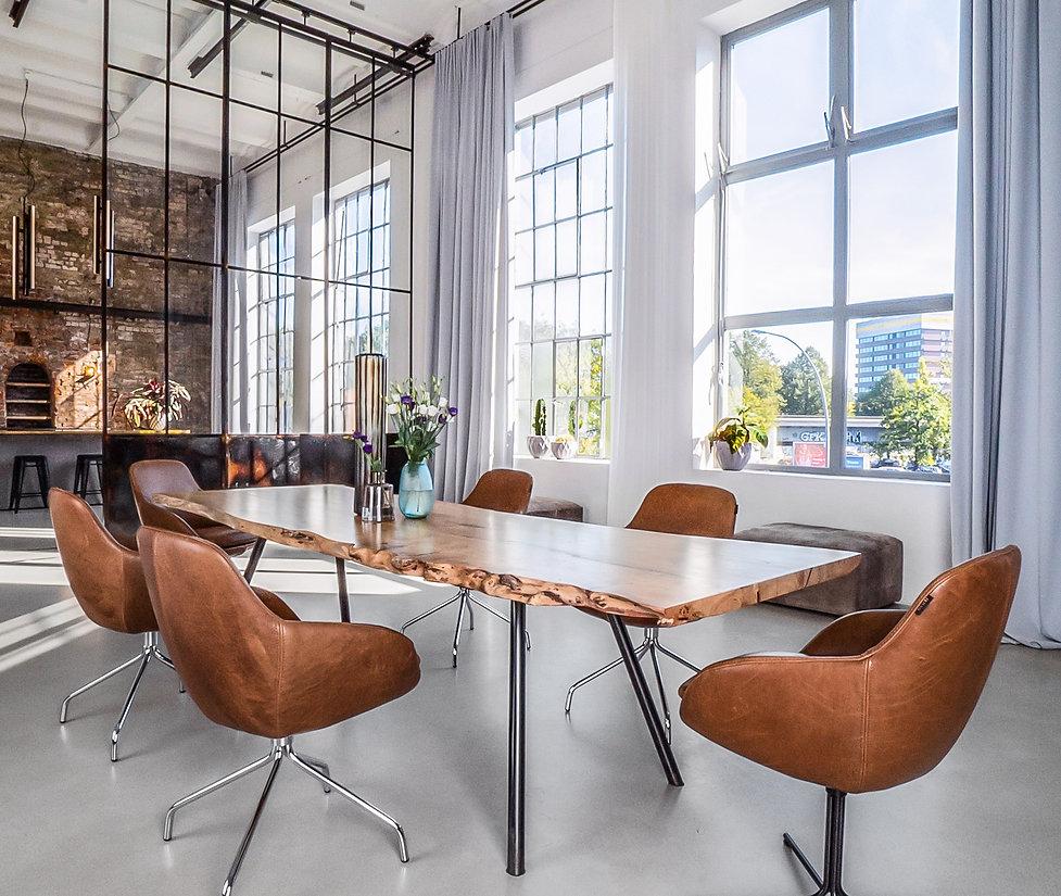 Esstisch Massivholztisch Designtisch aus