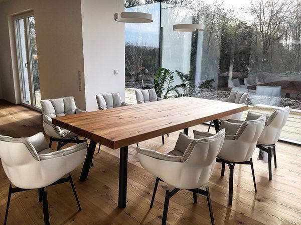 Eichentisch Massivholztisch Holztisch Esstisch B&B Italia | Holzwerk-Hamburg