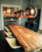 Massivholztisch | Esstisch aus Eichen - Altholz | Eichentisch | Holztisch | Treibholz | Holzwerk-Hamburg
