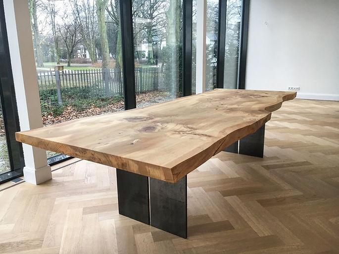 Massivholztisch Baumtisch Esstisch Table | Holzwerk-Hamburg