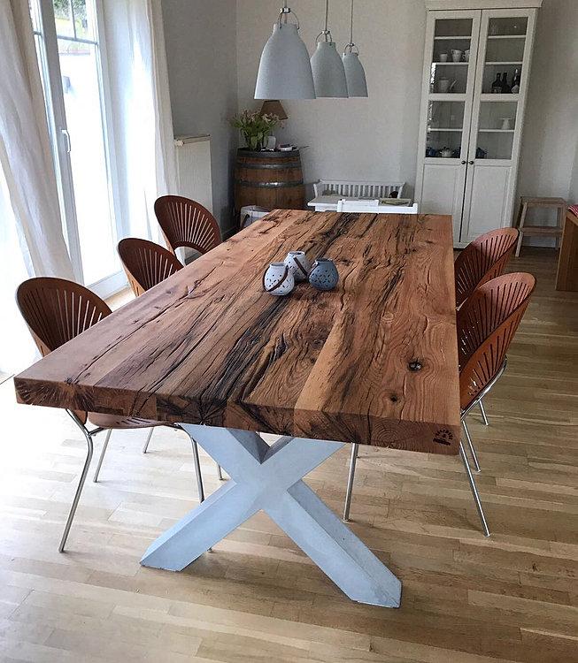 massivholz esstische nach ma von holzwerk hamburg. Black Bedroom Furniture Sets. Home Design Ideas