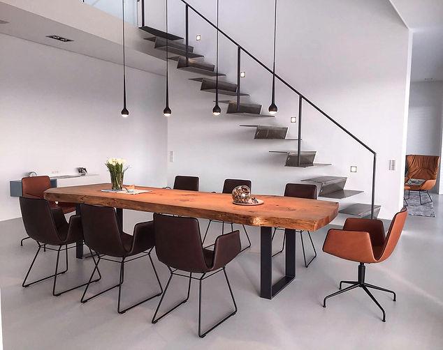 Baumtisch Massivholztisch Designtisch Holztisch | Holzwerk-Hamburg