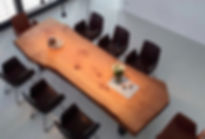 Baumtisch Esstisc Massivholztisc massiv Holz unverleimt aus eine Stück | Dinningtable | Holzwerk-Hamburg