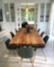 Esstisch Esszimmer Massivholztisch Tisch nach Maß Eichentisch | Holzwerk-Hamburg