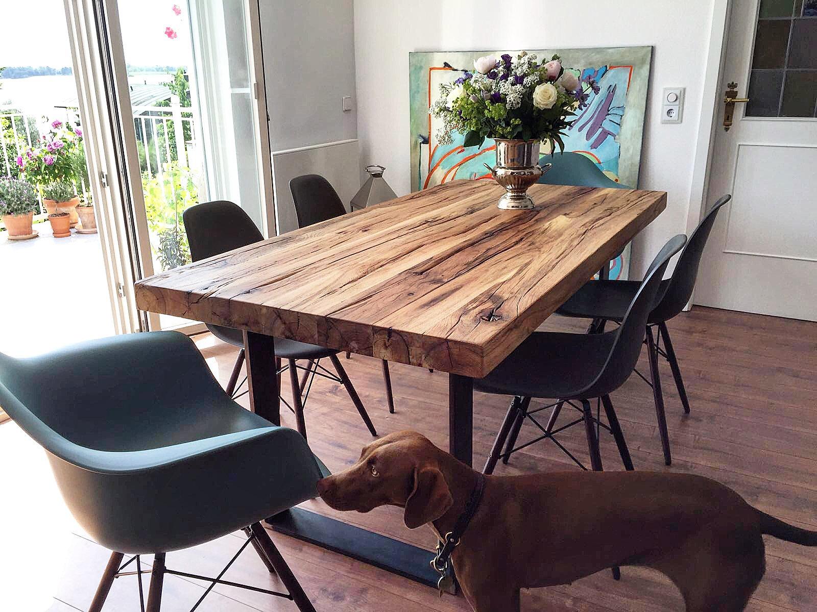 holzwerk hamburg designertische aus massivholz holztisch aus eihenholz altholz. Black Bedroom Furniture Sets. Home Design Ideas