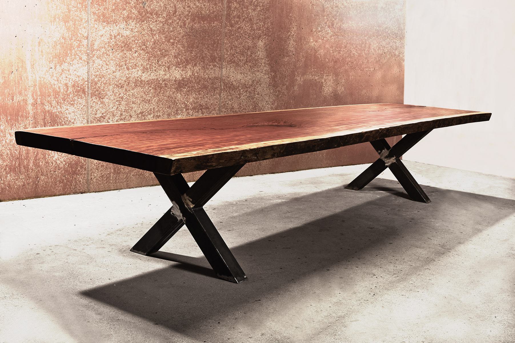 tisch konferenztisch bubinga holz massivholztisch. Black Bedroom Furniture Sets. Home Design Ideas