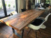 Massivholztisch Esstisch Holztisch Tisch | Holzwerk-Hamburg