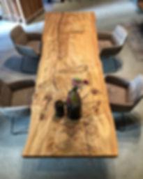 Baumtisch Massivholztisch Stammtisch Table Esstisch | Holzwerk-Hamburg