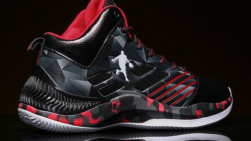 Jordan Basketball Shoes Breathable Anti-Slip Basketball Sneakers Men Lace-Up