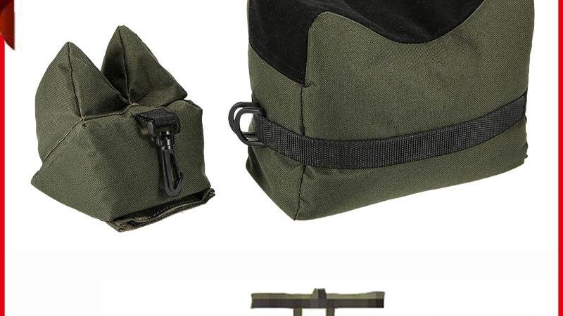 Sniper Bag Front & Rear Rifle Target Bench Unfilled Stand Support Sandbag