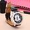 Thumbnail: New Arrival Fashion Leather Cute Minnie Desgin Kids Watch