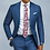 Thumbnail: 2pcs Men Suits Blazers Men's Suit Slim Fit  Formal Business