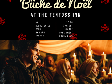 Bûche de Noël at the Fenfoss Inn: A DISENCHANTED Holiday Tale