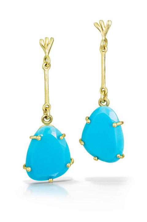 Charo Earring: Turquoise