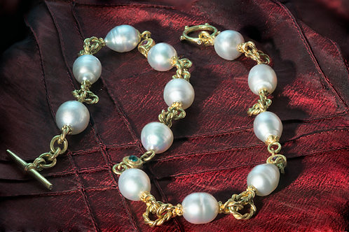Regal South Sea Pearl Necklace