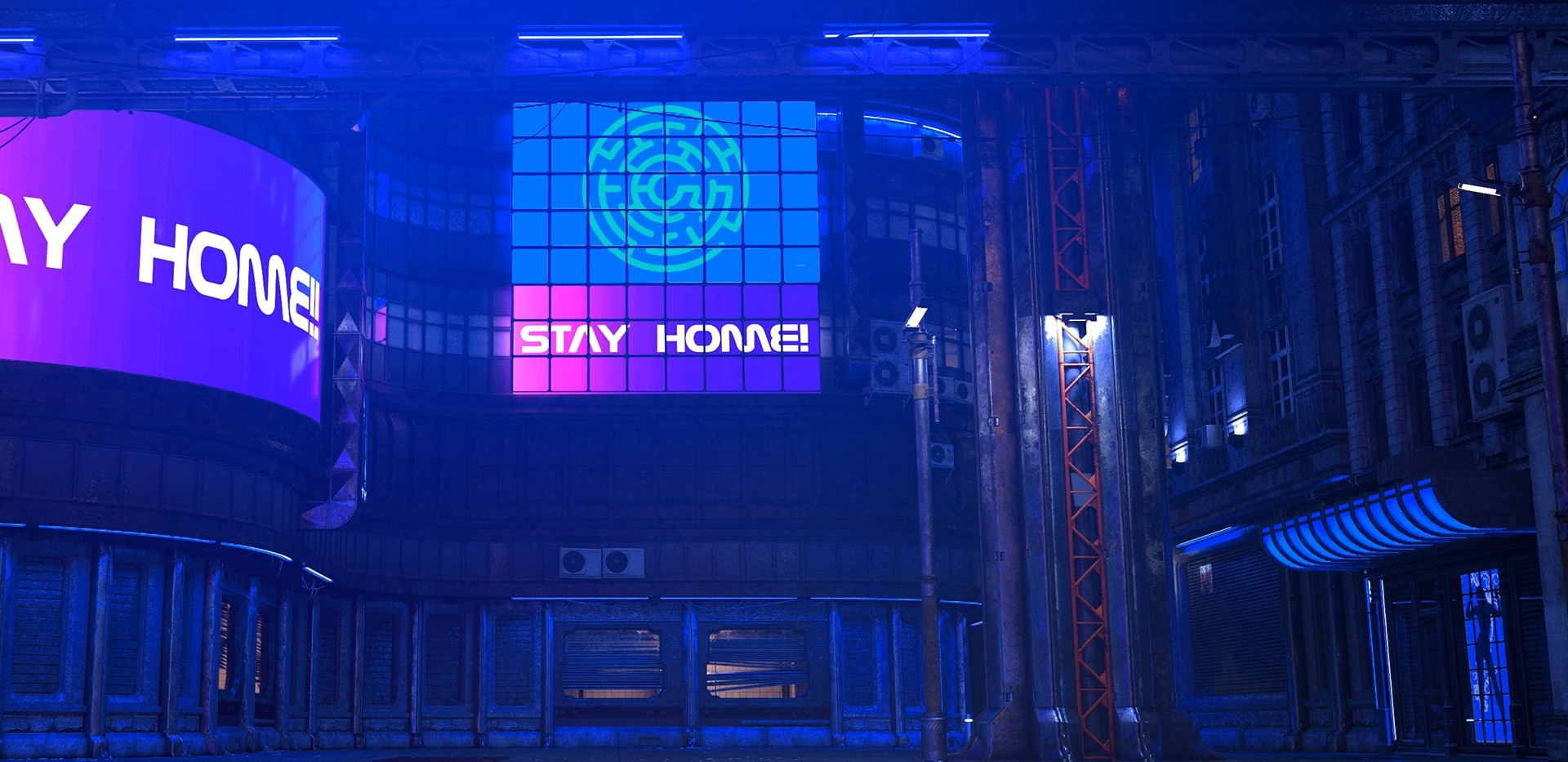 Stay Home | Cyberpunk Online Escape Game