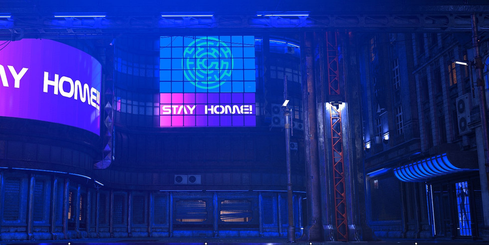 Stay Home   Cyberpunk Online Escape Game