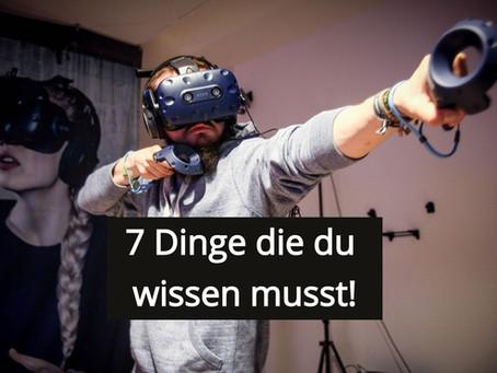7 Dinge, die du vor einem VR Escape Room wissen musst!