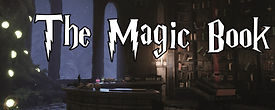 The Magic Book Schild - Virtual Escape