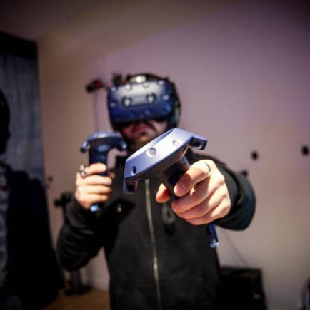 Virtual Escape Spieler in Action