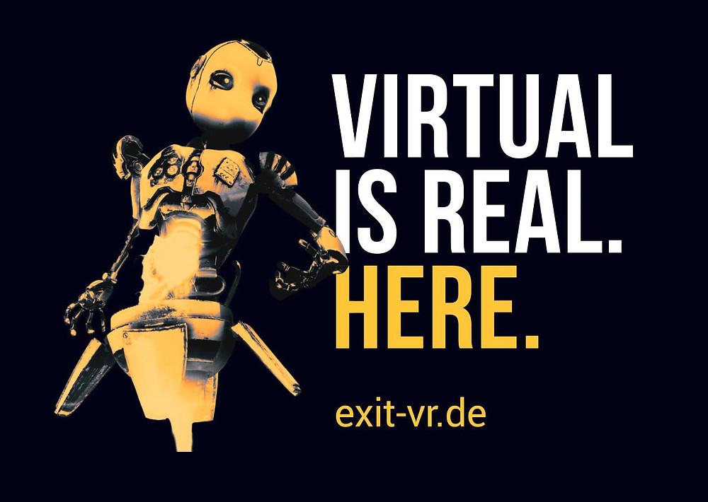 Der erste Virtual Reality Escape Room in Deutschland mit dem Game Huxley