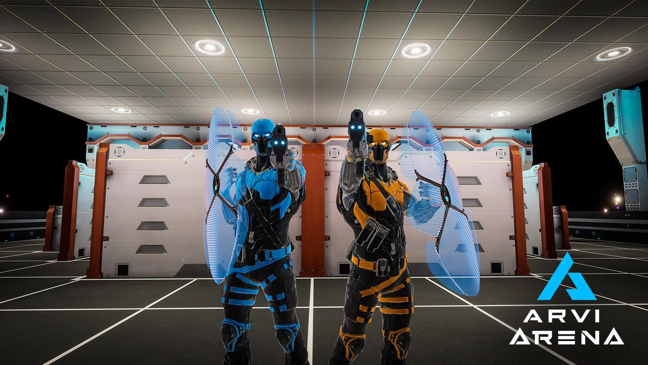 Arena - VR Lasertag | Virtual Escapepg