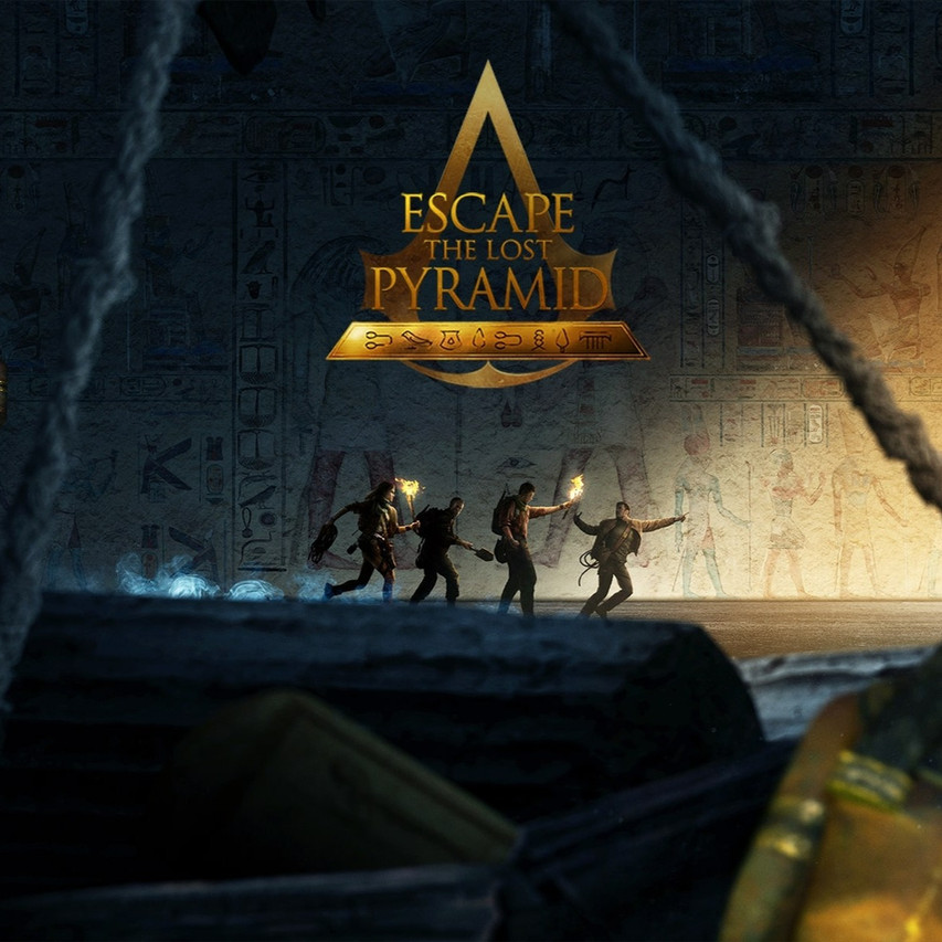 VR Escape Room Abenteuer Escape the lost Pyramid