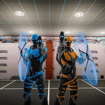 Virtual Escape freie Spielauswahl, ARENA Virtual Lasertag