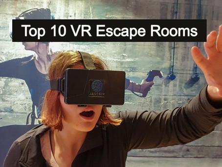 Die 10 besten VR Escape Room Games für zuhause!