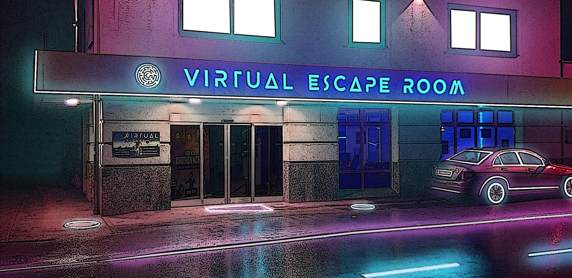 Eingang   Cyberpunk Online Escape Game  
