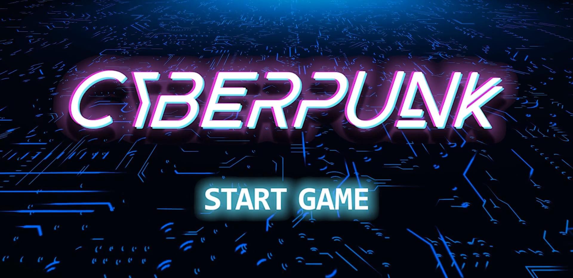 Startbildschirm   Cyberpunk Online Escap