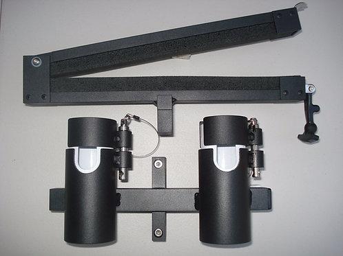 2 Locking Rod Holder