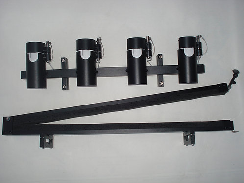 4 Locking Rod Holder